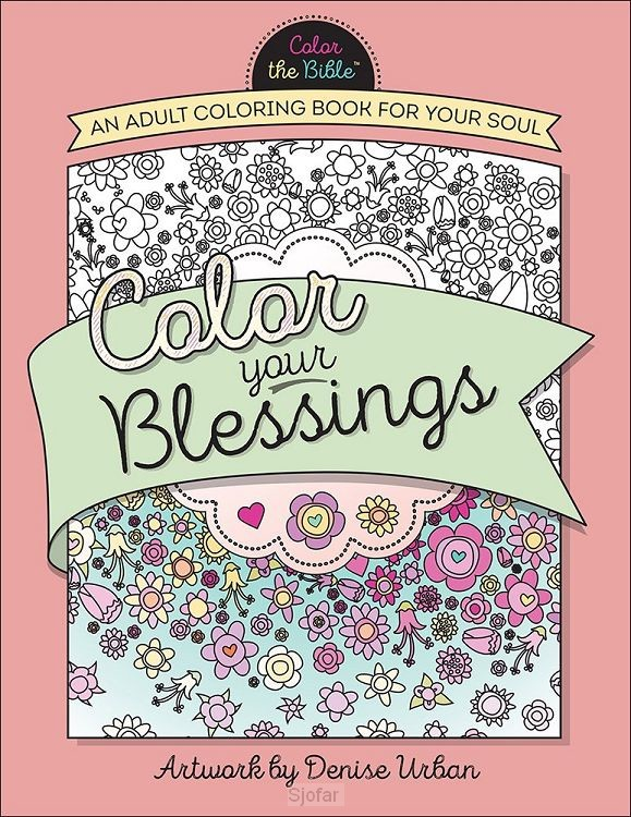 Color your blessings  adult