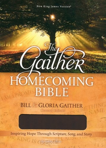 Gaither homecoming bible leather soft