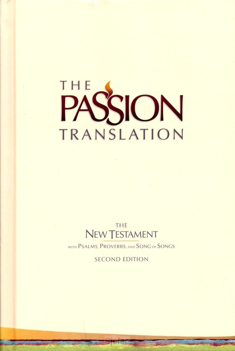 Passion Translation Colour Hardcover