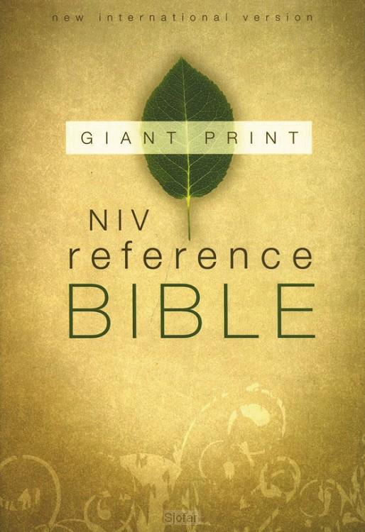 Reference bible - Giant print