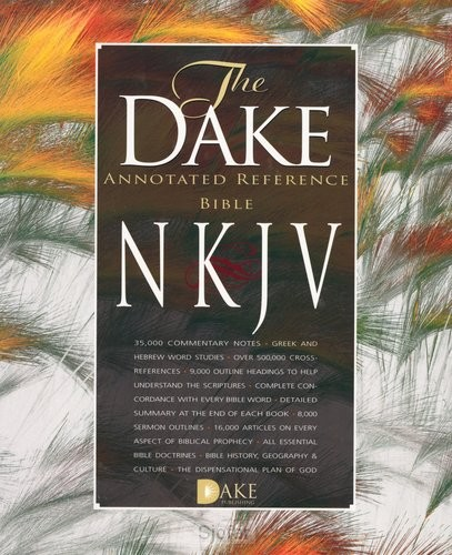Dake annotated reference bible - Large